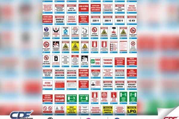 Uyarı ve İkaz Tabela